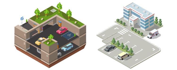Sistemas de Parqueo, Sistemas Control de Entrada