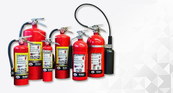 Badger Fire extinguishers