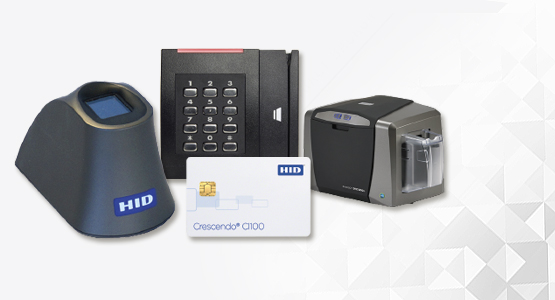HID Card Readers, ID printers, proximity cards