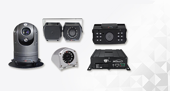 Howen mobile cameras and DVR for transportation vehicles