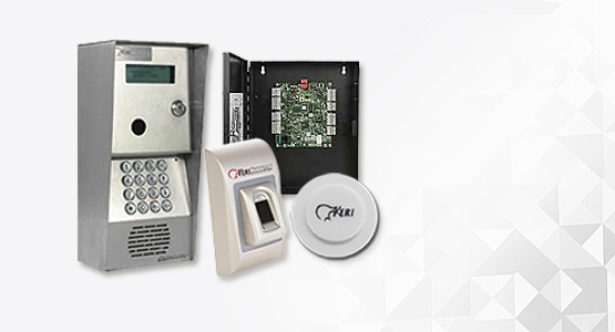 KeriSystems keypad and card readers, access controllers