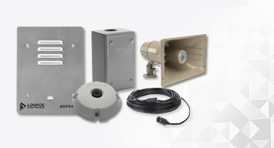 Louroe audio solutions for security