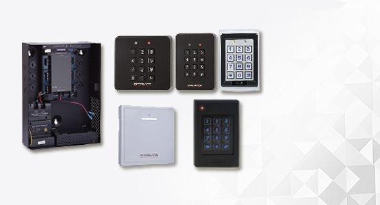 Rosslare card readers, keypad readers, access controllers