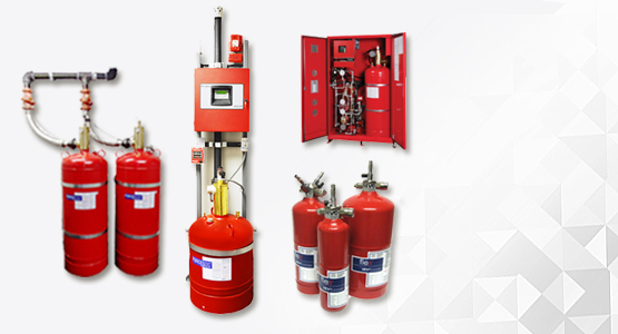Sevo Systems Fire extinguishers