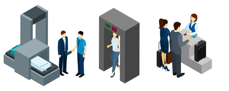 Metal Detectors and X-ray Detection
